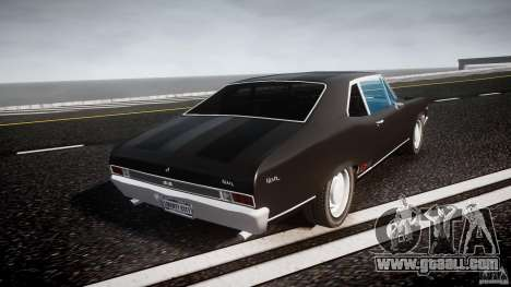 Chevrolet Nova 1969 for GTA 4 side view