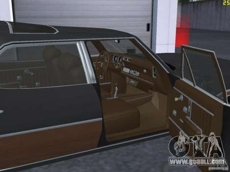 Oldsmobile Vista Cruiser 1972 for GTA San Andreas inner view
