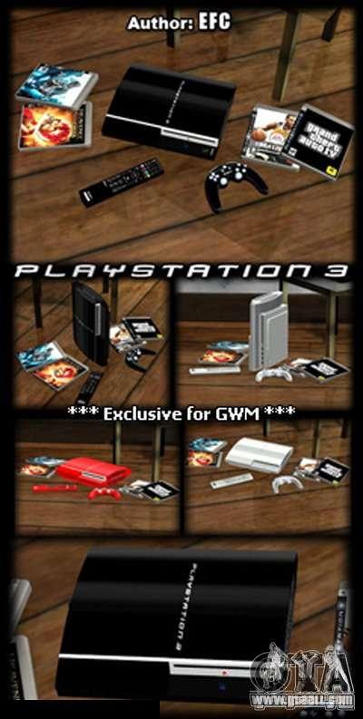 PLAYSTATION 3 for GTA San Andreas second screenshot