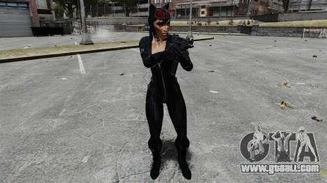 Cat woman for GTA 4 forth screenshot