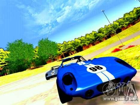 Shelby Cobra Daytona Coupe v 1.0 for GTA San Andreas upper view