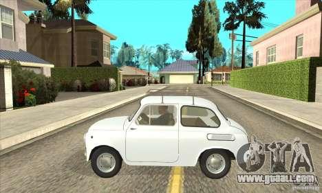 ZAZ-965 for GTA San Andreas left view