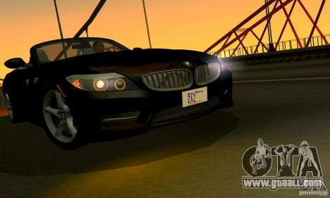 BMW Z4 2010 for GTA San Andreas side view