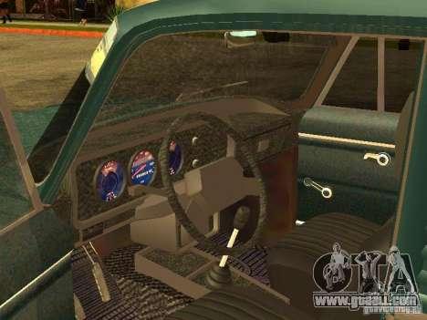AZLK 2734 for GTA San Andreas back view
