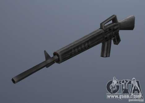 M16 for GTA Vice City second screenshot