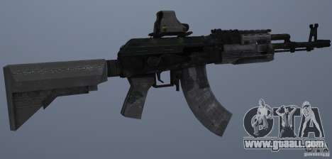 AK47+Holographic sight for GTA San Andreas