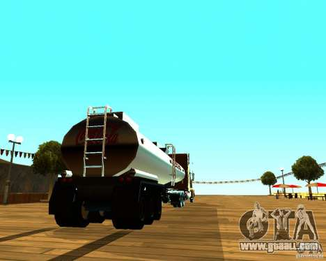 Trailer Of Coca Cola for GTA San Andreas back left view