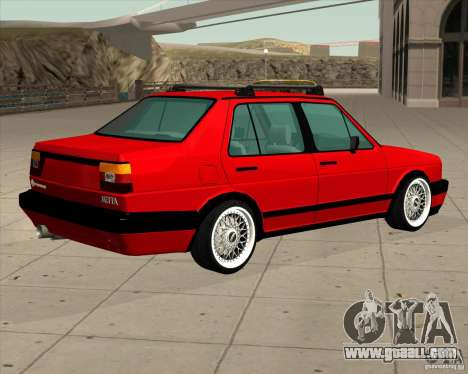 Volkswagen Jetta 1987 Eurostyle for GTA San Andreas left view