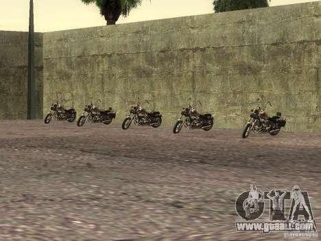 The realistic school bikers v1.0 for GTA San Andreas forth screenshot