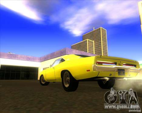 Dodge Charger RT 1969 for GTA San Andreas back left view