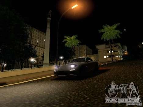 Mazda RX-7 for GTA San Andreas engine