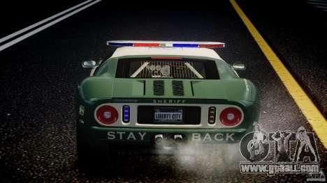Ford GT1000 Hennessey Police 2006 [EPM][ELS] for GTA 4 engine