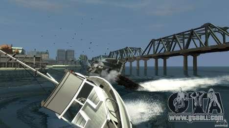 Biff boat for GTA 4 back left view