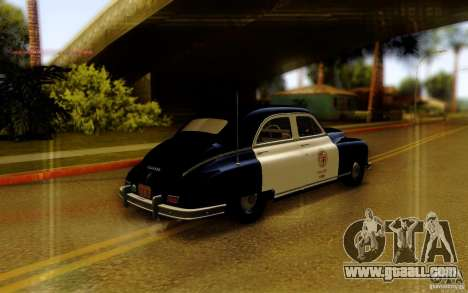 Packard Touring Police for GTA San Andreas left view
