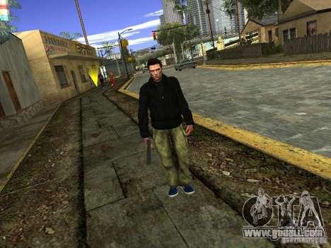 Claude HD Remake (Beta) for GTA San Andreas third screenshot