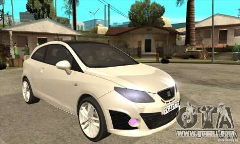 Seat Ibiza Cupra 2009 for GTA San Andreas back view
