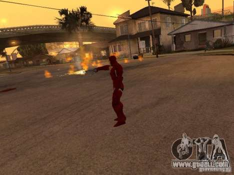 Iron Man for GTA San Andreas forth screenshot