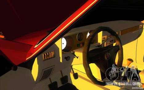 GAZ 3102 Volga Limousine for GTA San Andreas inner view