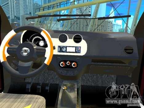 Fiat Novo Uno Sporting for GTA 4 inner view
