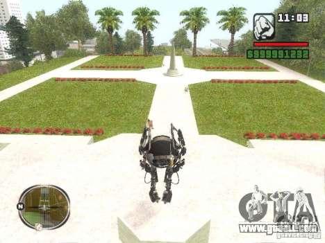 Robot from Portal 2 # 2 for GTA San Andreas second screenshot