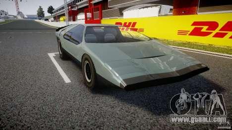 Alfa Romeo Carabo for GTA 4 right view