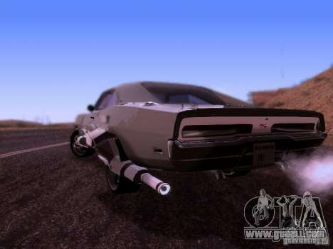 Dodge Charger 1970 Fast Five for GTA San Andreas left view
