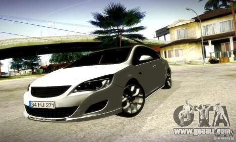Opel Astra Senner for GTA San Andreas left view