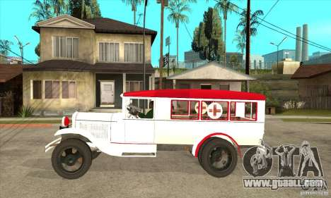 GAZ AA ambulance for GTA San Andreas left view