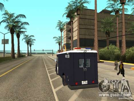 S.W.A.T. Los Angeles for GTA San Andreas left view