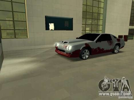 Blood on machines for GTA San Andreas