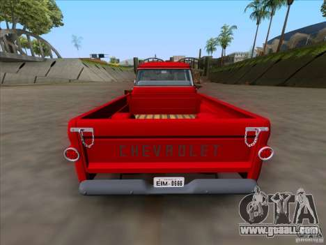 Chevrolet Apache GM 1959 for GTA San Andreas right view