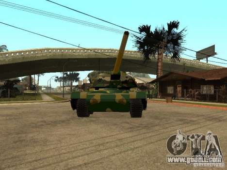 Camouflage for Rhino for GTA San Andreas left view