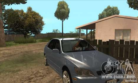 Real ENB Settings v3.0 The End version for GTA San Andreas second screenshot