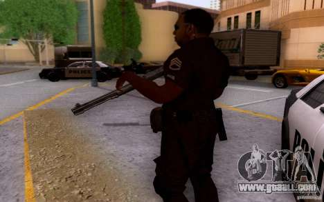 A police officer from CoD: BO2 for GTA San Andreas forth screenshot