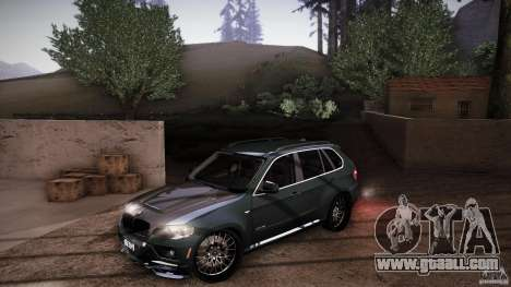 BMW X5 with Wagon BEAM Tuning for GTA San Andreas wheels