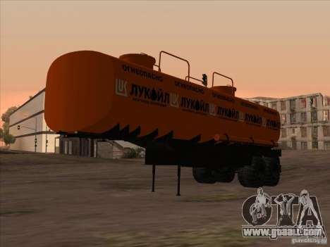 6417 MAZ for GTA San Andreas left view