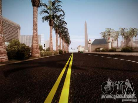 New Roads v1.0 for GTA San Andreas