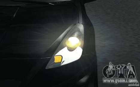 Toyota Celica for GTA San Andreas interior