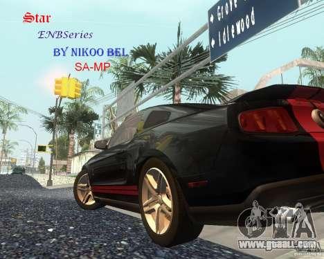 Star ENBSeries by Nikoo Bel SA-MP for GTA San Andreas