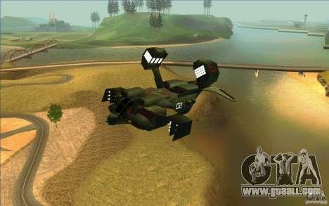 Aliens vs. Predator Marine Drobship for GTA San Andreas