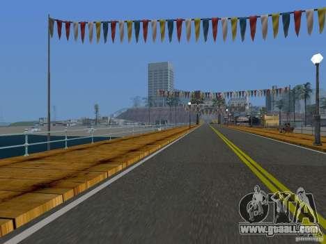 New Beach texture v2.0 for GTA San Andreas