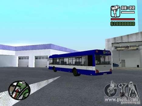 Solaris Urbino 12 for GTA San Andreas back left view