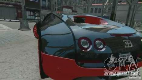 Bugatti Veyron 16.4 Super Sport for GTA 4 left view