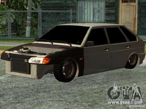 ВАЗ 2114 Hobo for GTA San Andreas