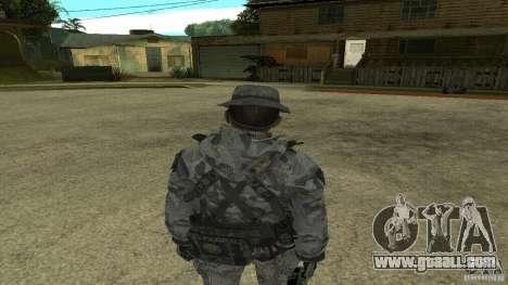 Captain Price for GTA San Andreas third screenshot