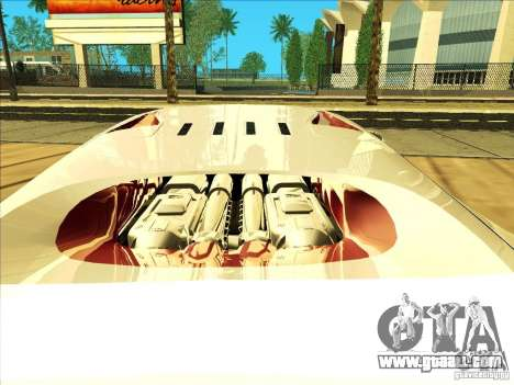Bugatti Veyron for GTA San Andreas inner view