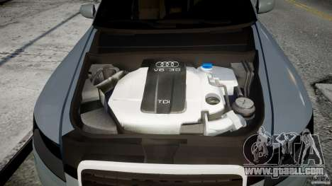 Audi A6 TDI 3.0 for GTA 4 back view