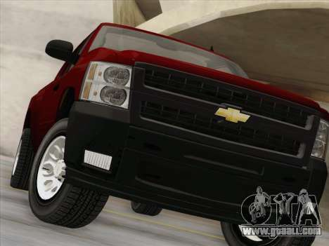 Chevrolet Silverado 2500HD 2013 for GTA San Andreas upper view