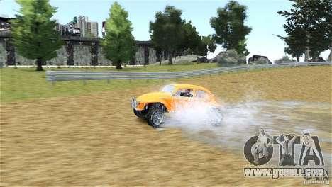Baja Volkswagen Beetle V8 for GTA 4 back view