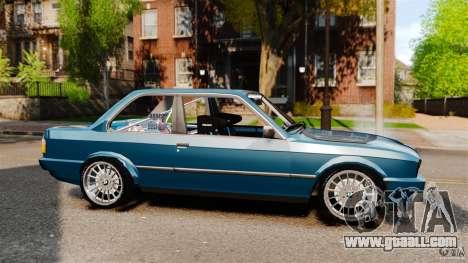 BMW E30 V8 Drift for GTA 4 left view